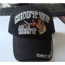 48 Units of SHUT UP & HUNT Hat *Deer in Crosshairs*