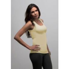 12 Units of Ladies Seamless Tank Top Ribbed Texture - Womens Camisoles / Tank Tops