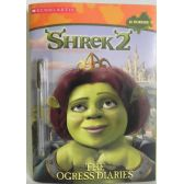 50 Units of Shrek2 Ogress Diaries Coloring and Activity Book Includes Gel Pen - Best Selling items