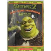 50 Units of Shrek2 Play Along Sticker Book - Best Selling items