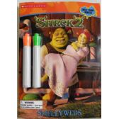 50 Units of Shrek2 Smellyweds Coloring and Activity Book with 2 Markers - Best Selling items