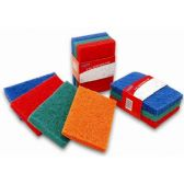 48 Units of 3 Pack Heavy Duty Scouring Pads
