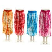 24 Units of Indian Bohemian Skirt - Womens Skirts