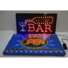 5 Units of BAR Light Up Sign
