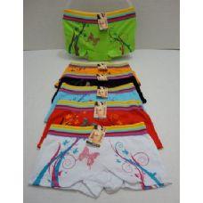 72 Units of  Ladies Panties-Butterflies & Vines - Womens Panties & Underwear