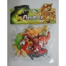36 Units of 12pc Plastic Dinosaurs - Animals & Reptiles