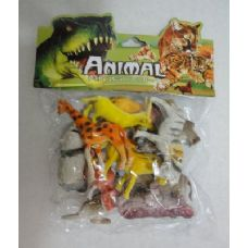 36 Units of 12pc Plastic Zoo Animals - Animals & Reptiles