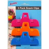 48 Units of 3 Pack Multi Purpose Snack Clips - Best Selling items
