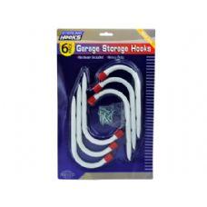 12 Units of Garage Storage Hooks - Hooks