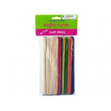 75 Units of Jumbo craft sticks - Craft Wood Sticks and Dowels