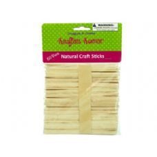 75 Units of Natural wood craft sticks - Craft Wood Sticks and Dowels