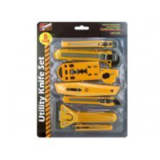 24 Units of Utility Knife Set - Box Cutters and Blades
