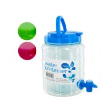 24 Units of Water Container with Spigot and Handle - Food Storage Bags & Containers