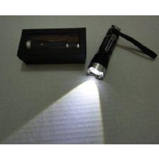24 Units of 3W Super Bright Zoom Flashlight with Case [Metal] - Flash Lights