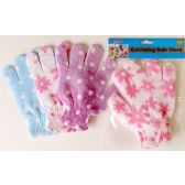 72 Units of Exfoliating Dotted Bath Glove