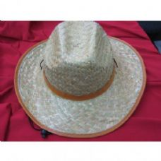 48 Units of Men's Straw Cowboy Hat - Cowboy & Boonie Hat