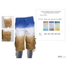 48 Units of Mens Cargo Shorts 100% Cotton - Mens Shorts