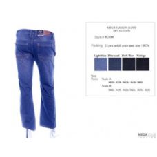 12 Units of Mens Trendy Jeans Sizes 32-42 - Mens Jeans