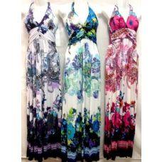 36 Units of Long Criss Cross Back Dress - Womens Sundresses & Fashion