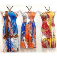 36 Units of Short Dresses with Chain Designs - Womens Sundresses & Fashion