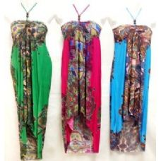 36 Units of High Low Dress with Strap Neck - Womens Sundresses & Fashion