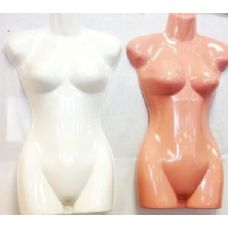 36 Units of Half Body Plastic Mannequin/ Dress Models - Wholesale Apparel Accessories