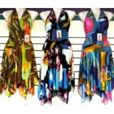 36 Units of Bright Colors Halter Back Dresses - Womens Sundresses & Fashion
