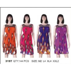 72 Units of Ladies Short Summer Dress