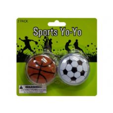 72 Units of Sports Yo-Yo Set - Toy Sets