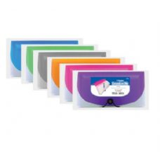 48 Units of BAZIC 7-Pocket Check Size Poly Expanding File - Storage Holders and Organizers