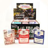 36 Units of Assorted Used Las Vegas Casino Playing Card w/ PDQ Display - Card Games