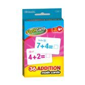 24 Units of BAZIC Addition Flash Cards (36/Pack) - Teacher / Student