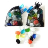 48 Units of decorative Assorted Shapes Glass Beads - Craft Beads