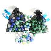 48 Units of Assorted Decorative Marbles - Craft Beads