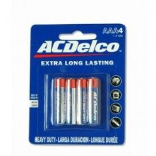 48 Units of ACDelco Hvy Duty AAA Battery 4Ct - Batteries