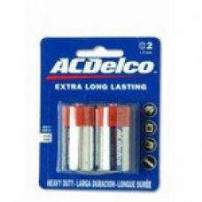 48 Units of ACDelco Hvy Duty C Battery 2Pk - Batteries
