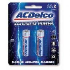 48 Units of ACDelco Alkaline AA - 2 Piece - Batteries