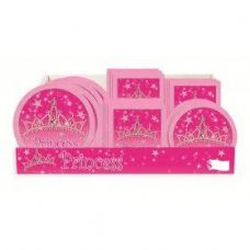 Princess Pre-Pk Ctr Shipper 96Ct - Party Accessory Sets