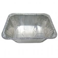 100 Units of Aluminum Pan 1/2 size Extra Deep - Aluminum Pans
