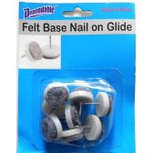48 Units of Felt Base Chair Glides 8 pack - Hardware Products