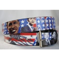 48 Units of American flag Obama Belts - Unisex Fashion Belts