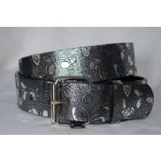 48 Units of Woman Black Silver Butterfly belt - Womens Belts