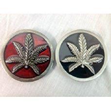 48 Units of Marijuana Leaf Belt Buckle - Belt Buckles