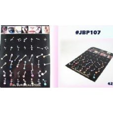 126 Units of Body jewelry/ body piercing - Body Jewelry