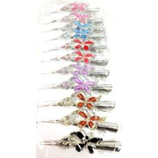 48 Units of 5inch Salon Clip Metal w/ Butterfly Hair accessory - Hair Accessories