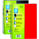 "36 Units of Plastic Poly Note Book - 3 subject - 150 sheets-10.5""x8"" - Notebooks"