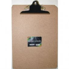 "24 Units of Bulk Hard board Clip Board - 12.5"" x 9"" - Large Clip - Clipboards and Binders"
