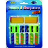 48 Units of Eraser & Sharpener Set