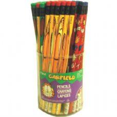 144 Units of Garfield Pencils - 72 per display / 2 displays