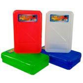 """48 Units of Pencil Box, """"The Box"""", Asst. Colors - Pencil Boxes & Pouches"""